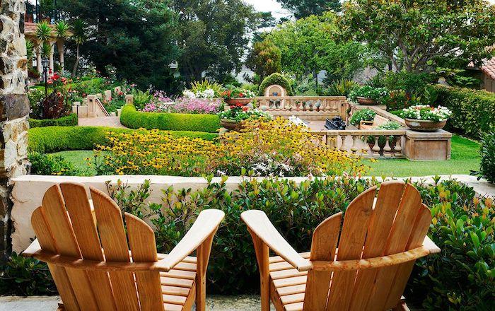 sitzplatz garten gestalten terrasse mit sitzplatz rasenflche ideen sitzpltze im garten. Black Bedroom Furniture Sets. Home Design Ideas