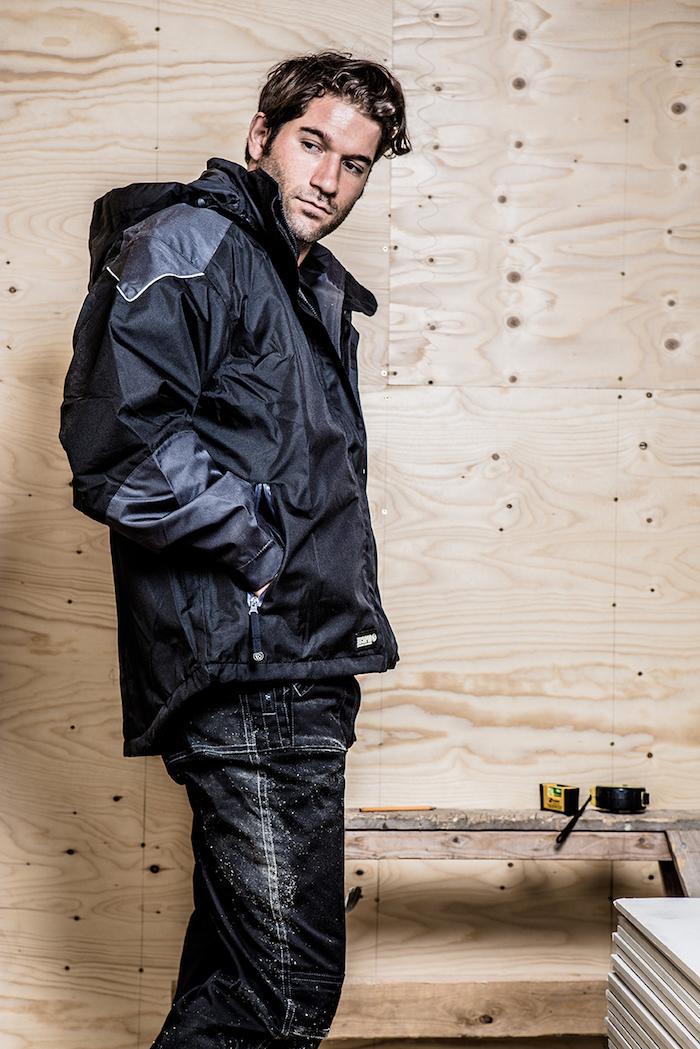 arbeitskleidung jacke model mann männerkleidung hose jacke handwerker
