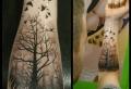 Lebensbaum Tattoo – die tiefe Symbolik dieses Zeichens