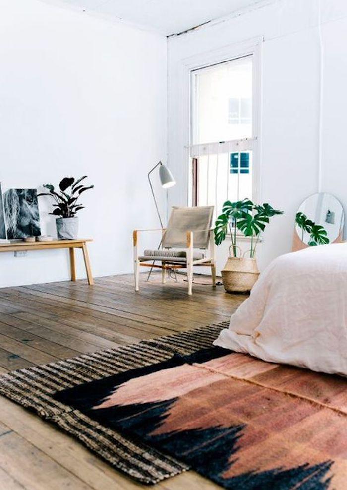 teppich im modernen zimmer ethno look trendy ideen 2017 einrichtung möbel