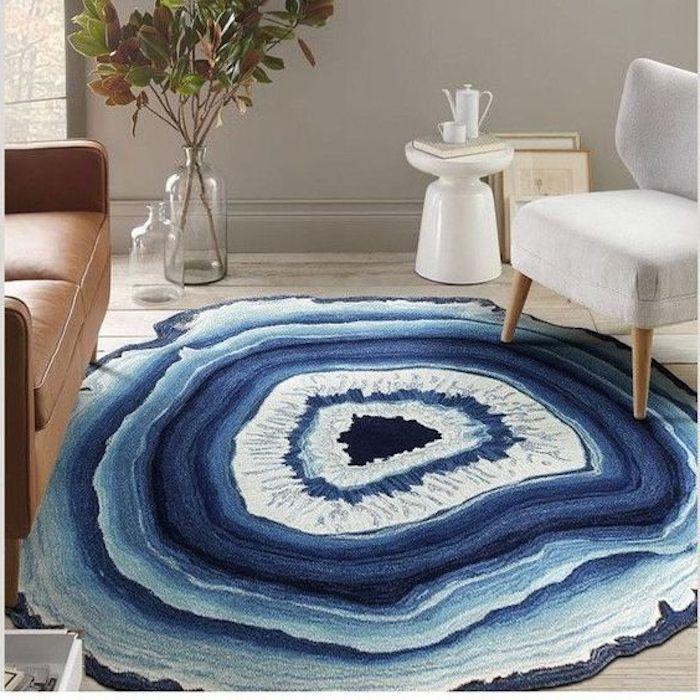 türkis teppich eine interessante ausführung mineralstein model dekorative elemente