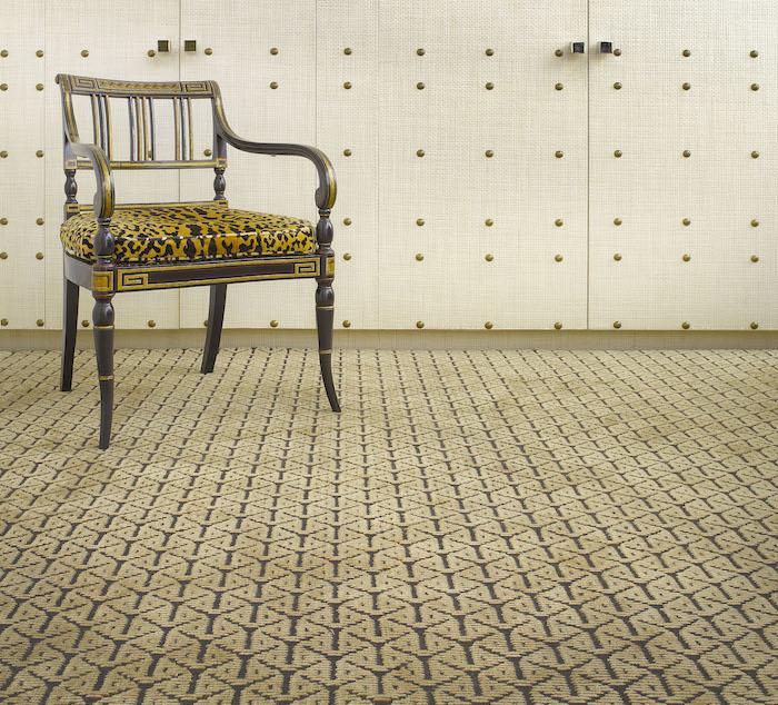 teppich beige kurzflor idee luxusteppich möbel idee stuhl barberteppich deko