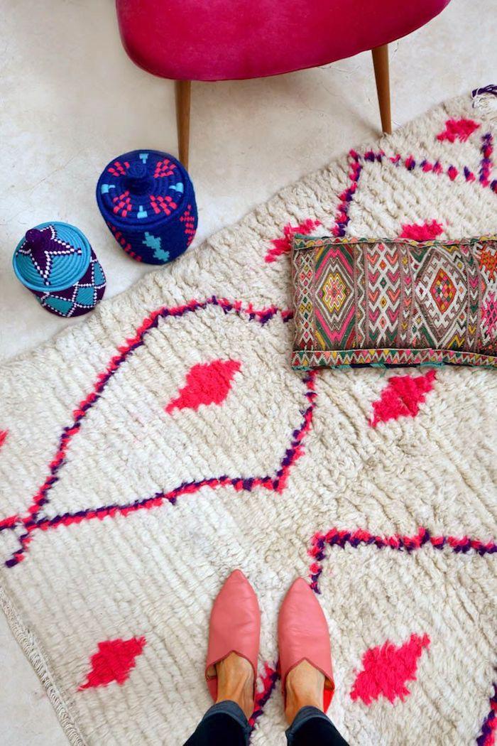 teppiche online wählen inspirierende ideen ethno look im modernen zuhause idee