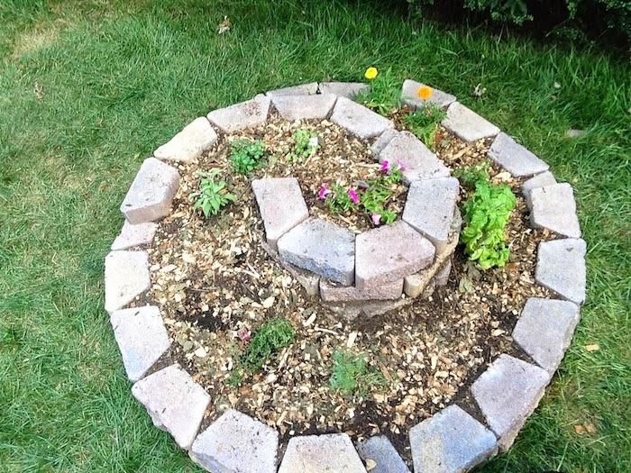 jetzt zeigen wir ihnen eine unserer ideen zum thema kräuterspirale anlegen - hier finden sie eine tolle idee für eine kleine kräuterschnecke mit grünen pflanzen und kräutern