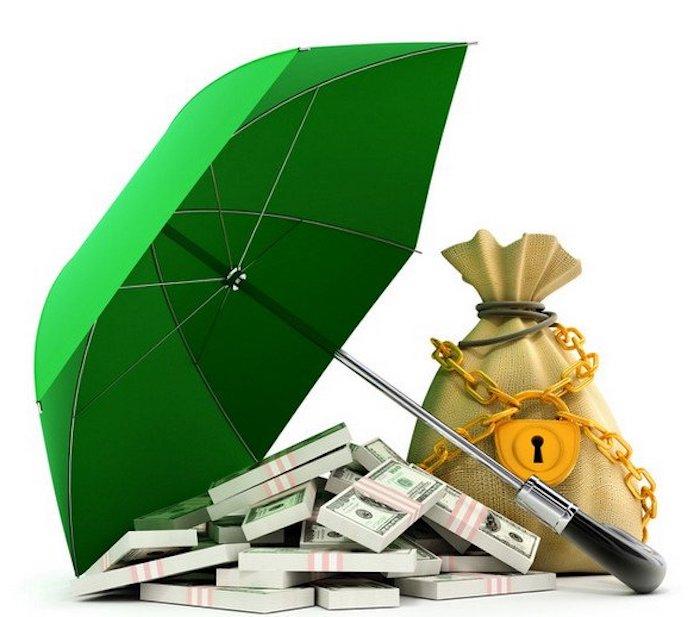 ein regenschirm kann gar nicht die wertsachen schützen kaufen sie lieber einen tresor