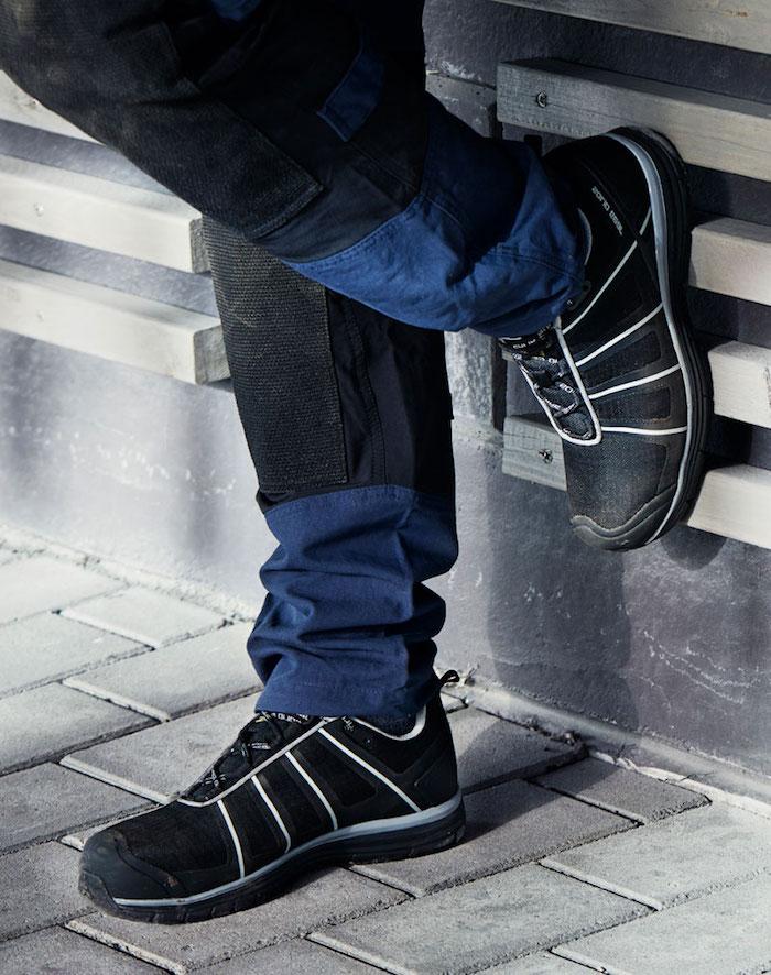 kleidung für arbeit hochwertige schuhe zur arbeit tragen sicherheit schutz hose