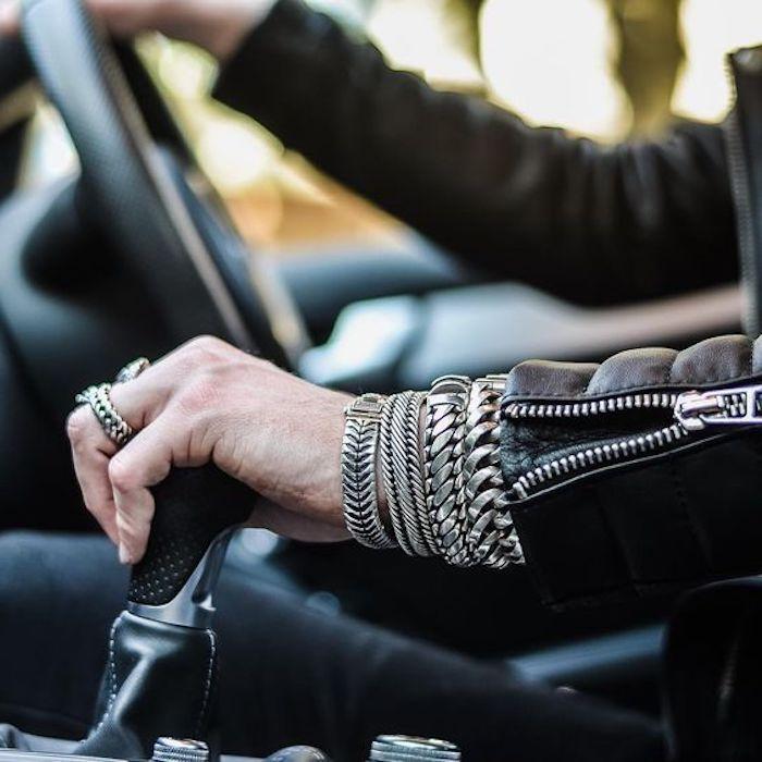 zum thema herrenschmuck - schöne armbänder und heerenringe