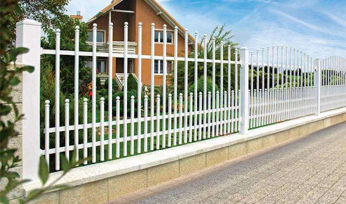 wisniowski gartenzaun zaunsystem höchste qualität weißer zaun idee haus gestaltung