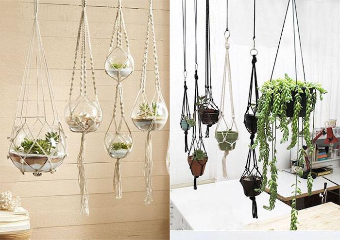 armbänder knüpfen anleitung schöne deko für das gemütliche zuhause pflanzen deko