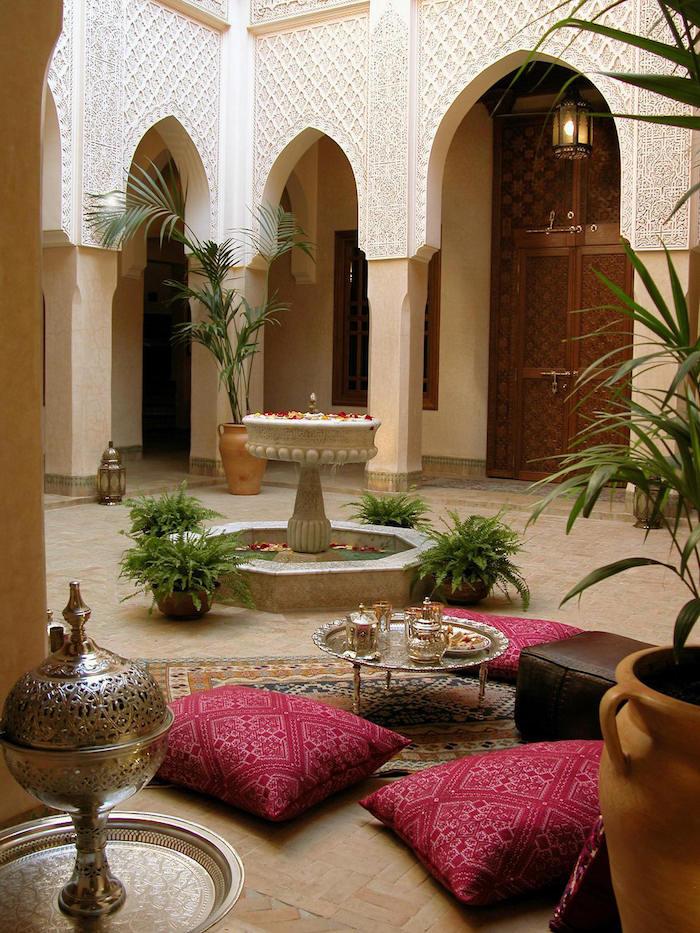 bodenkissen orientalische deko ideen schöne einrichtung architektur authentisch