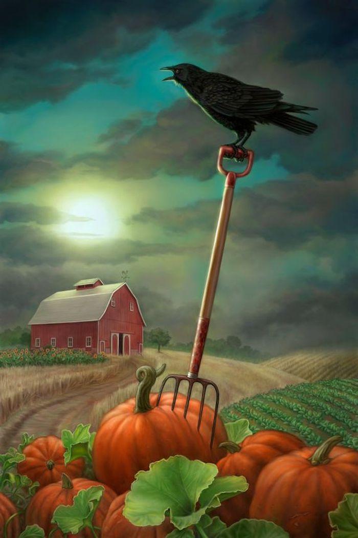 Bilder zu Halloween ein rustikales Bild von der Zeit vor dem Abend von Allerheiligen