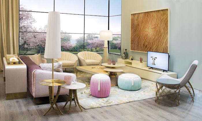 sitz kissen idee türkis minzenfarbe rosa deko bunte idee aber dezent und elegant stilvolle deko
