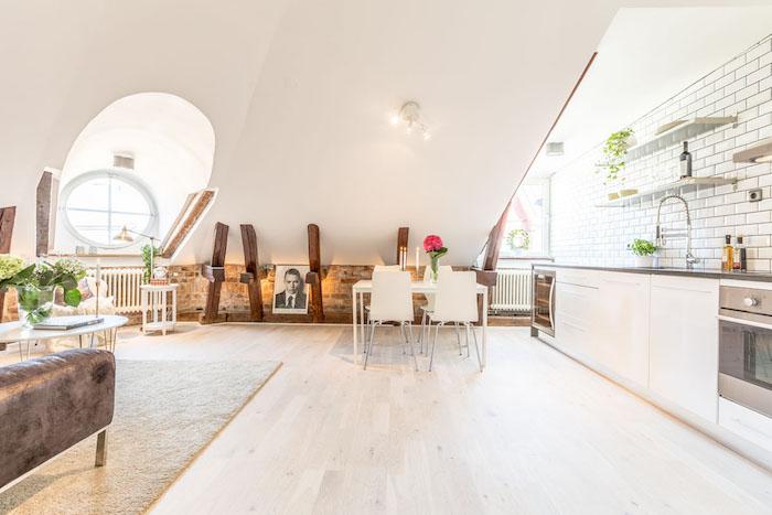 Großzügig Kuechen Ideen Dachgeschoss Bilder - Innenarchitektur ...