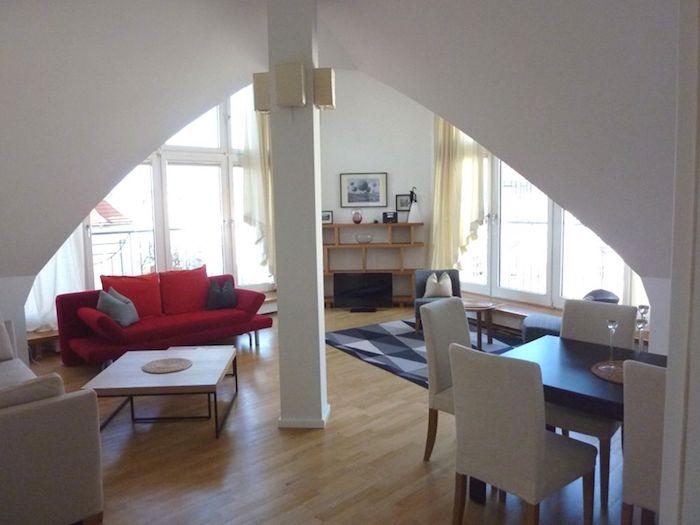 sitzecke kamin wohnliche einrichtungsideen, ▷ 1001 ideen für die moderne dachgeschosswohnung, Design ideen