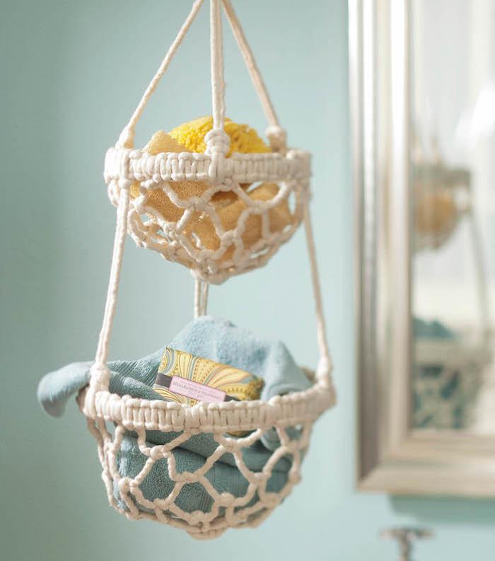 armbänder knüpfen anleitunghängende regale schöne ideen für das bad oder schlafzimmer