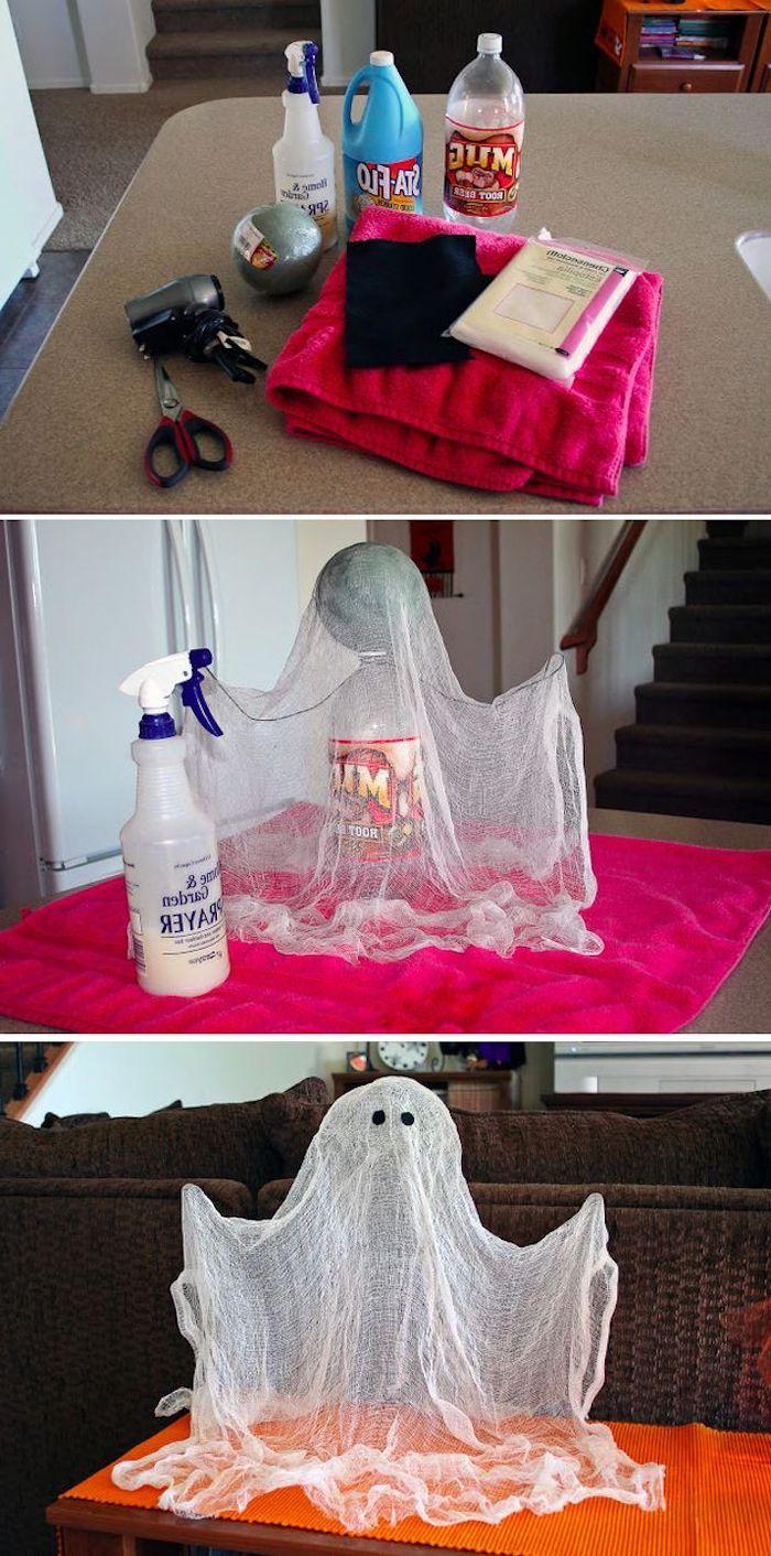 Was brauchen Sie um dieses DIY Projekt zu schaffen - Basteln für Halloween