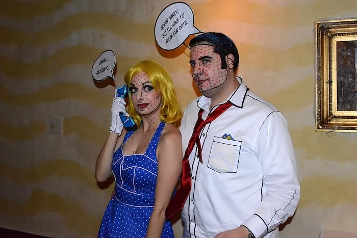 die Helden aus einem Comic Buch kommen am Leben - Halloween Kostüm Ideen