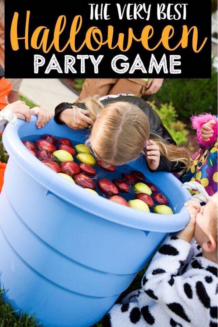 lustige halloween spiele fur kleine kinder