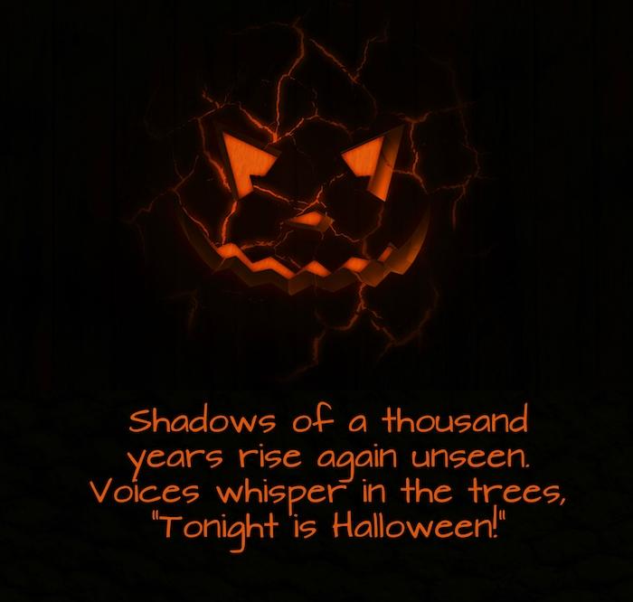 hier ist noch ein bild mit einem halloween kürbis und noch einer unserer ideen zum thema coole halloween sprüche