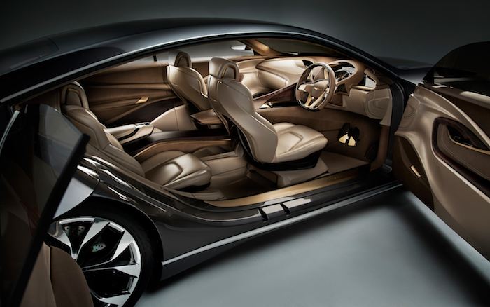 tolle idee zum thema inneneinrichtung eines wagens mit ledersitzen