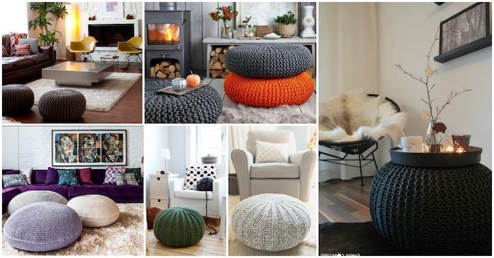 interieur design ideen sechs deko ideen zum nachmachen bodenkissen in verschiedensten farben