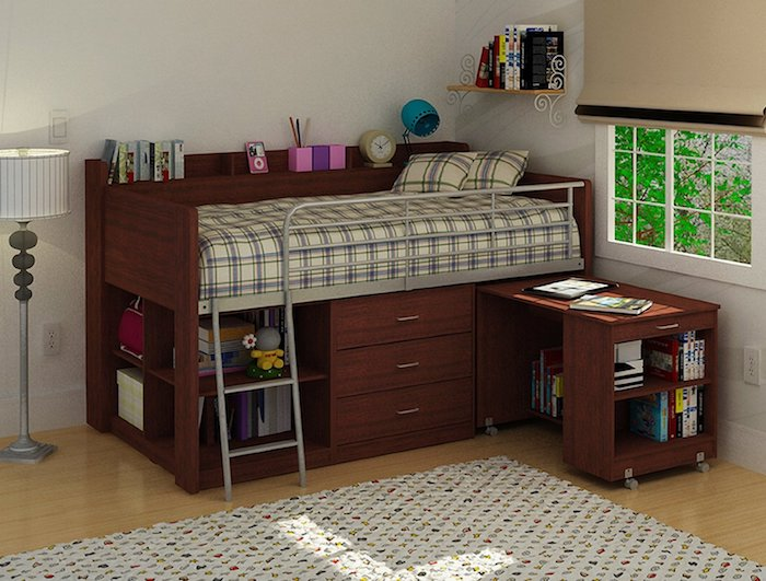 1001 ideen f r kinderhochbett alles rund um sicherheit und dekoration. Black Bedroom Furniture Sets. Home Design Ideas