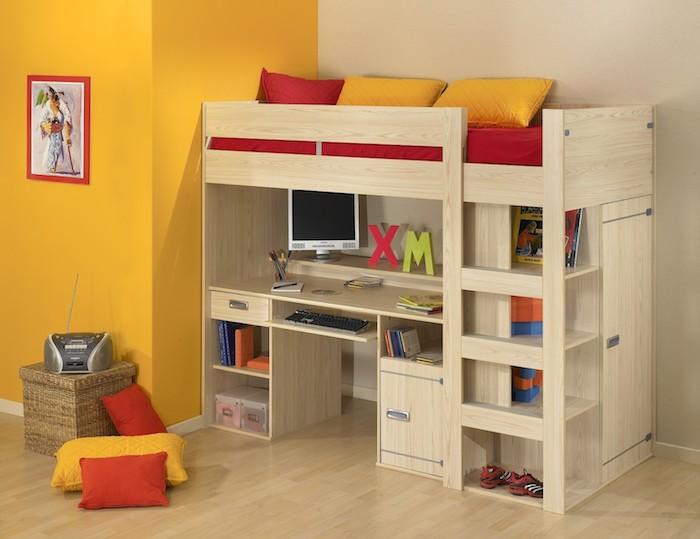 Kinderhochbett selber bauen  Baumhaus Bett Selber Bauen. Perfect Baumhaus Bett Selber Bauen ...