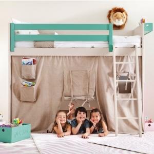 Kinderhochbett - bildschöne und platzsparende Ideen