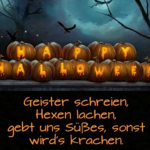 Die besten Halloween Sprüche zum Süßes-oder-Saueres-Tour