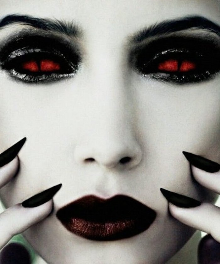 40 Ideen Fur Halloween Kontaktlinsen Fur Die Halloween Nacht
