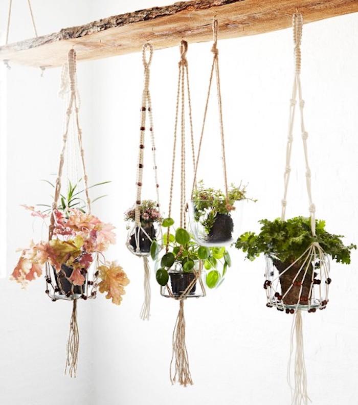 blumenampel hängende deko ideen zum inspirieren blumentöpfe blumenampel idee