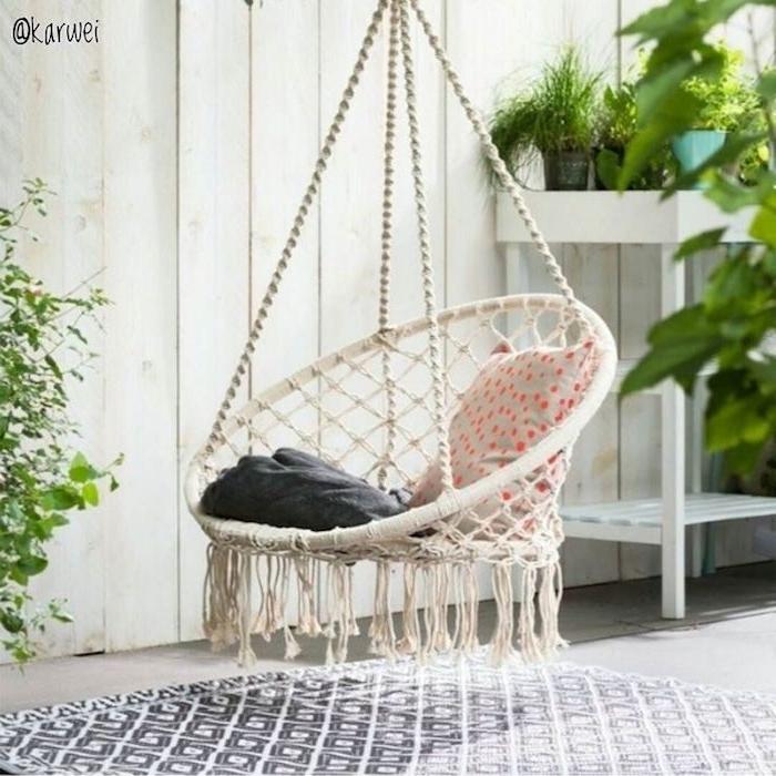 Hängematte Als Sessel Gestalten Stricken Ist Ein Talent Schöne Möbel Selber  Machen Kissen