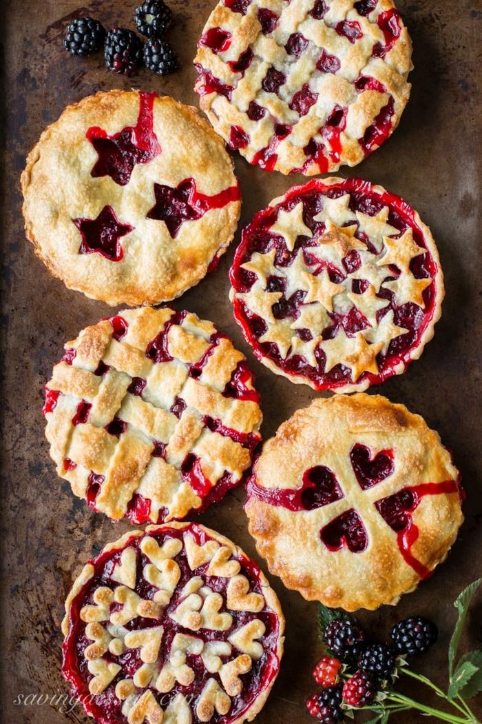 Tarten mit Marmelade, schöne und super leckere Nachtische für Ihre Feier, tolle Ideen und Rezepte