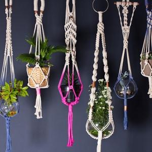 Makramee Blumenampel - DIY Projekte und Deko Ideen zum Inspirieren