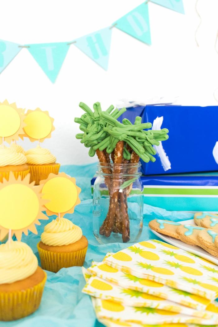 Salzstangen- Palmen, Cupcakes- Sonnen, coole und kreative Ideen für Sommerpartys, Das Auge isst mit!