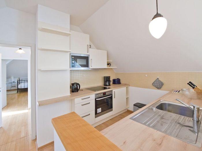 küche dachschräge idee design zu hause herd ofen backen kochen mit lust und laune lampe wie tropfen