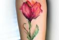Über 90 verblüffende Blumen Tattoo Ideen