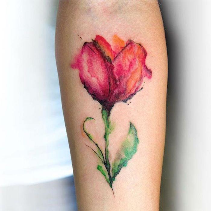 1001 Blumen Tattoo Ideen Und Informationen Uber Ihre Bedeutung