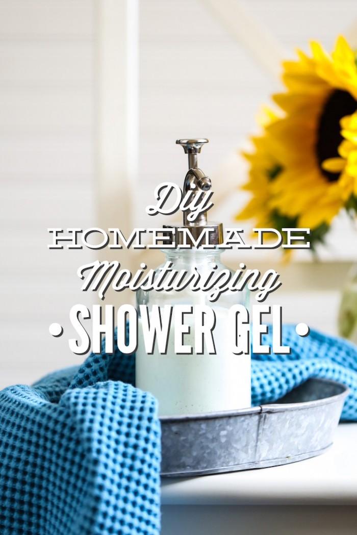 duschgel selber machen, natprliche körperpflege, selbergemachte hautpflegemittel