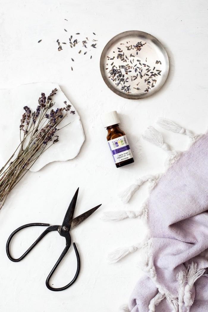 kosmetik selber machen, duschel mit aloe vera und lavendel