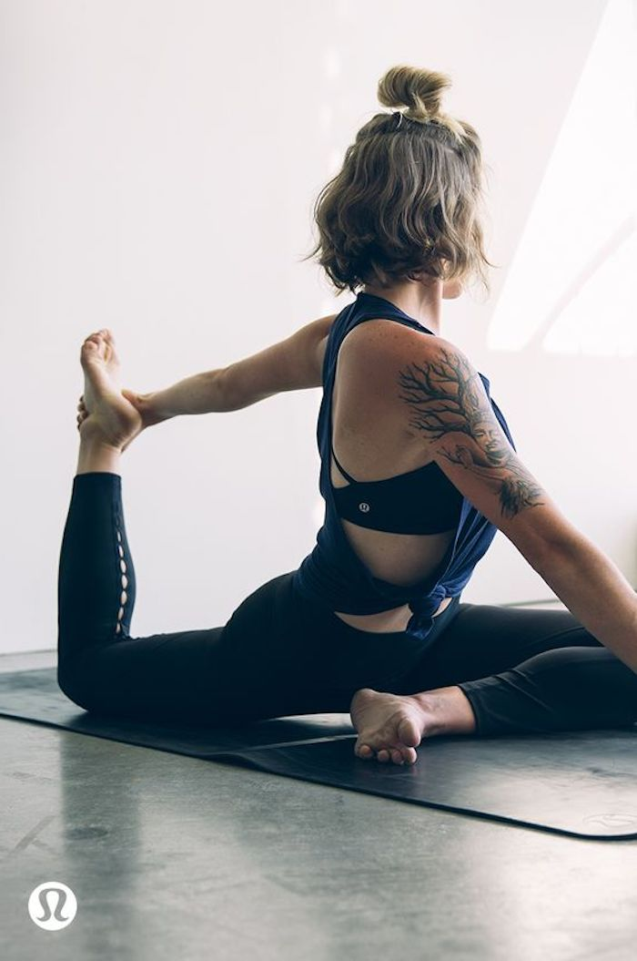 Yoga for beginners for perfectly modeled body