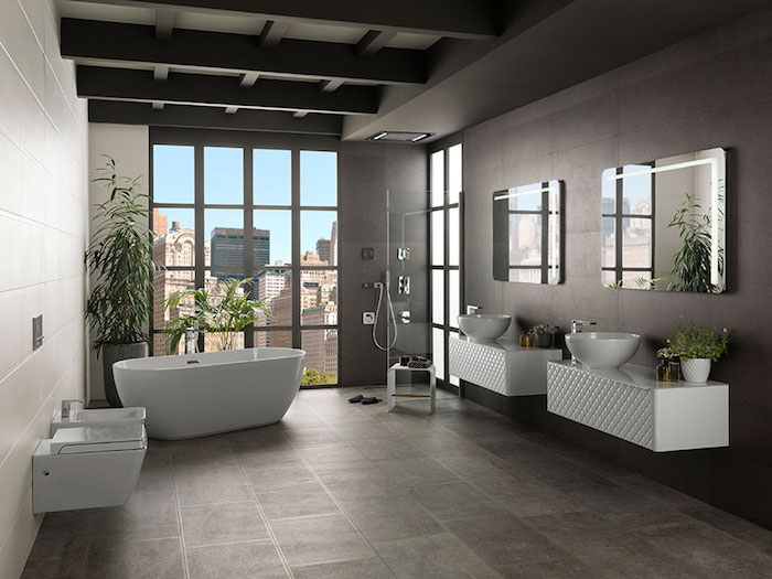 Modern Bathrooms These Colors And Materials Are Trendy