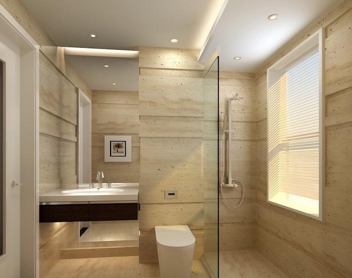 Beautiful Badezimmer Mit Trennwand Photos - Erstaunliche ...