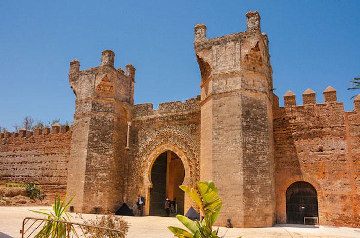 rabat marokko sehenswertes sehenswürdigkeiten in marokko nekropole von chellah