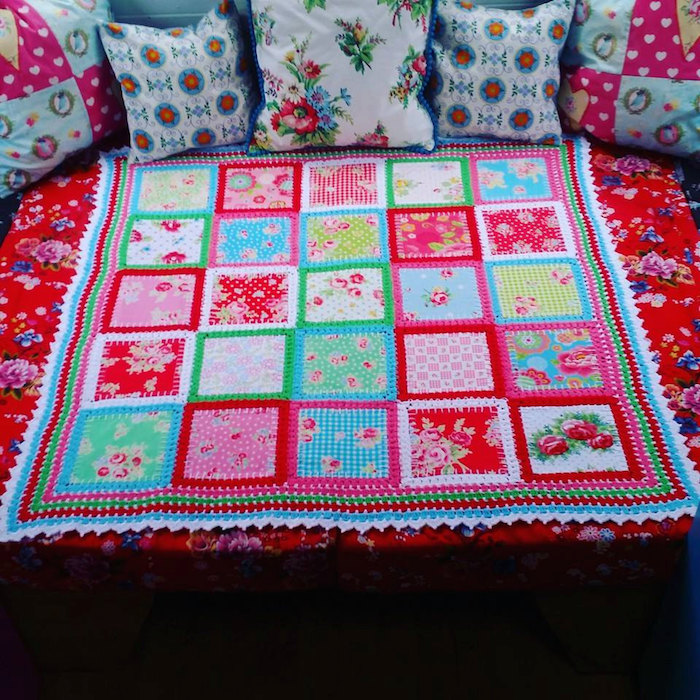 How Do I Sew A Patchwork Blanket