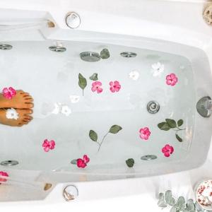 Badesalz selber machen - Wellness für Zuhause
