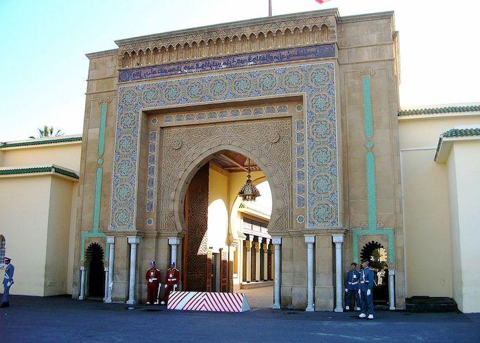 marokko interessante orte die königliche residenz ein faszinierendes gebäude architektur stadt