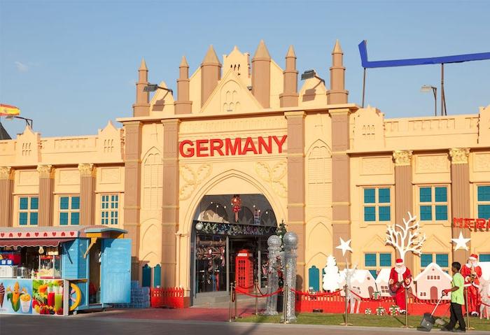 dubai sehenswürdigkeiten deutschland dorf pavillon der deutschen kultur in dubai