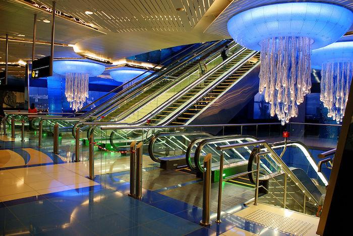 sehenswürdigkeiten dubai ideen metro u-bahn schöne interieur design entscheidungen architektur innenarchitektur