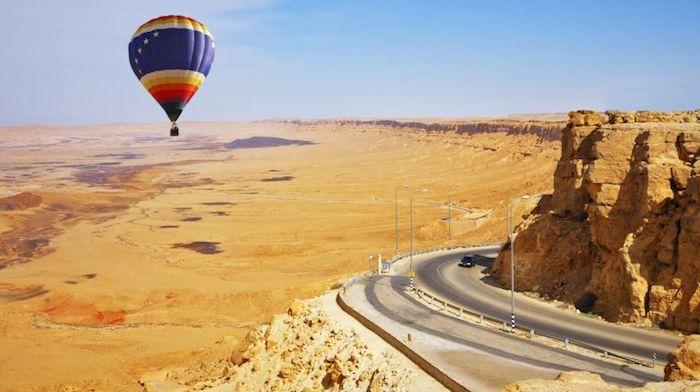 sehenswürdigkeiten tours in dubai flug mit einem ballon über die wüste attraktive touristen attraktionen